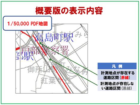 断面交通量計測地点位置情報】 - (公財)日本交通管理技術協会